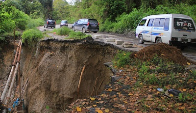Trenggalek Residents Worried About Landslides Caused by Quake